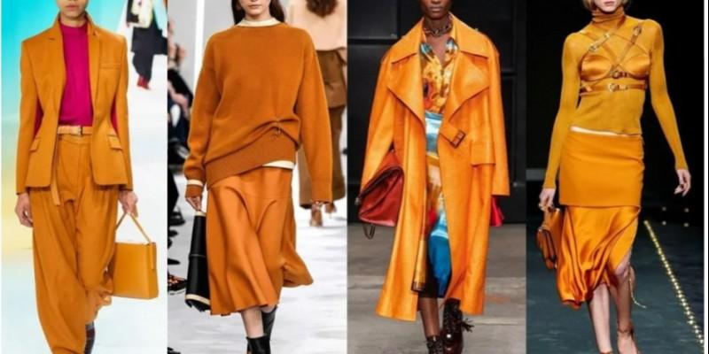 Модные цвета одежды в 2020 году