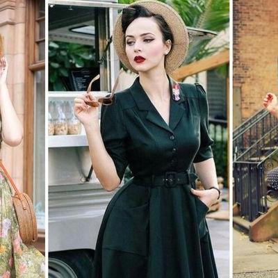 Винтажный стиль в одежде – основные каноны