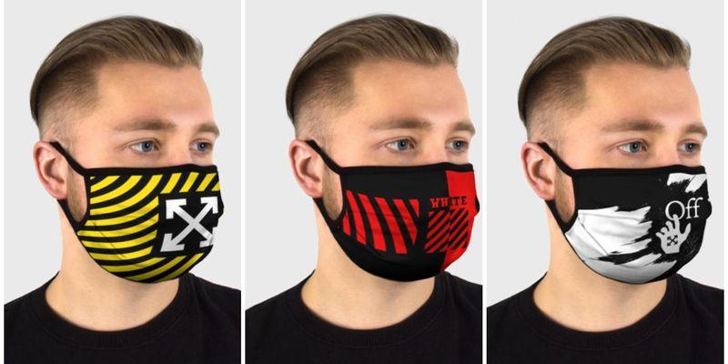 Модные и необычные защитные маски от известных дизайнеров