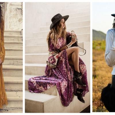Богемный стиль в женской одежде