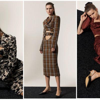 Модные платья на осень 2021