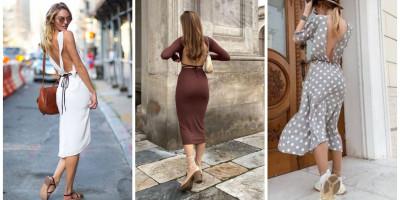 Платье миди - идеальная длина для любой женщины