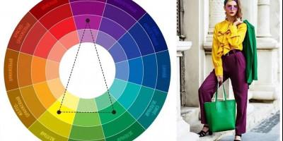 Правила сочетания одежды в трех цветах