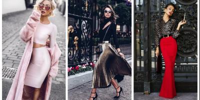 Стиль гламур в женской одежде