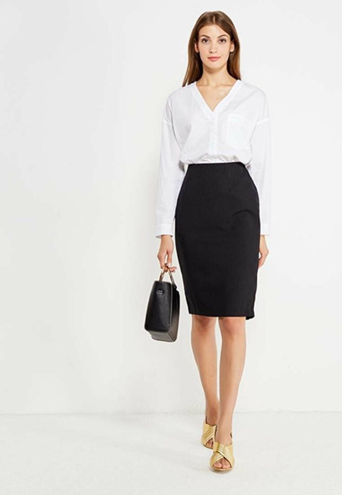 девушка модель одежды на работу