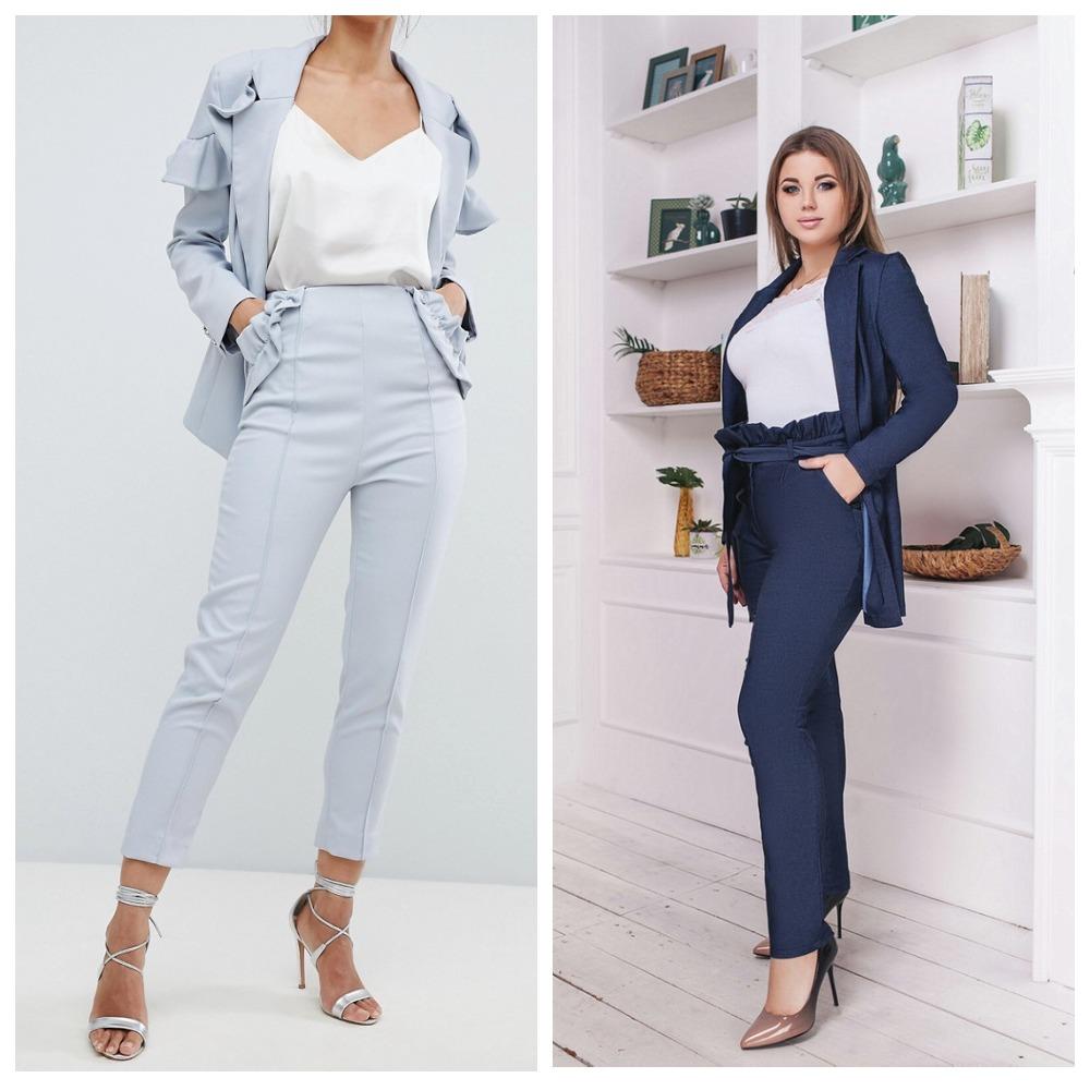 деловой стиль для девушек 2020 одежды на работу