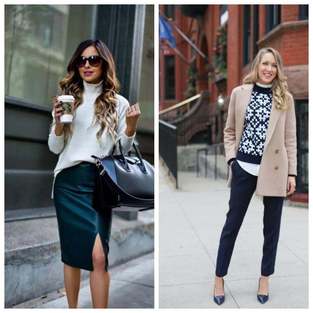 деловой стиль одежды для девушек на работу 2020