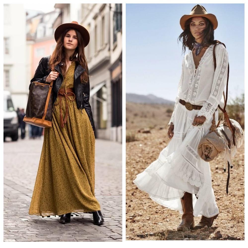 Женская одежда в стиле бохо - что это такое, отличия от других