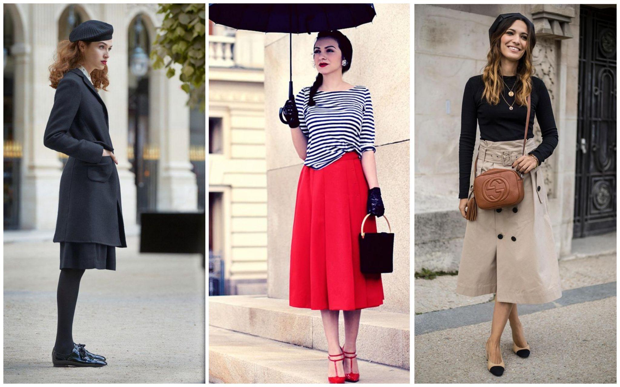 Качественные ткани в одежде французского стиля