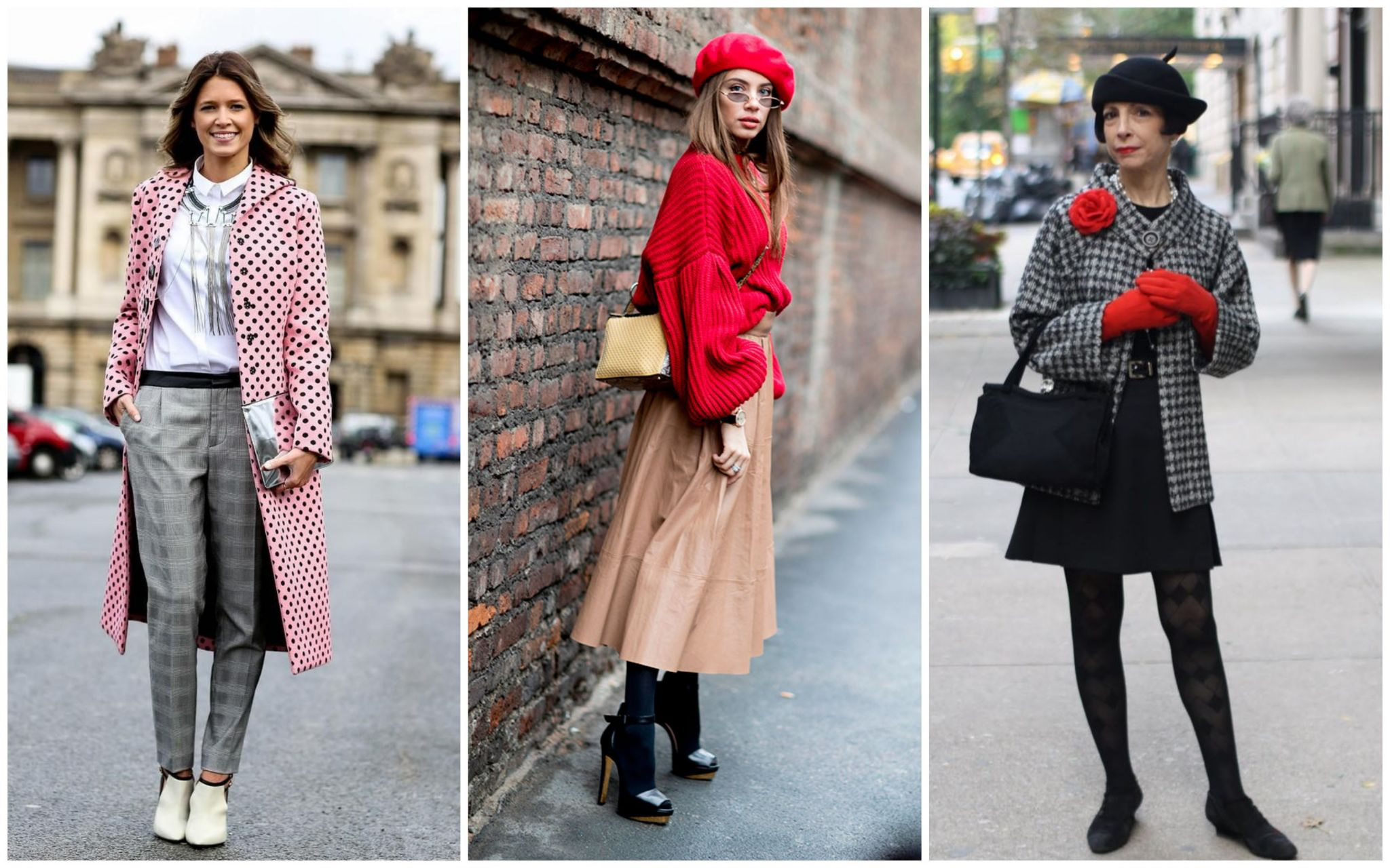 Простая одежда французского стиля