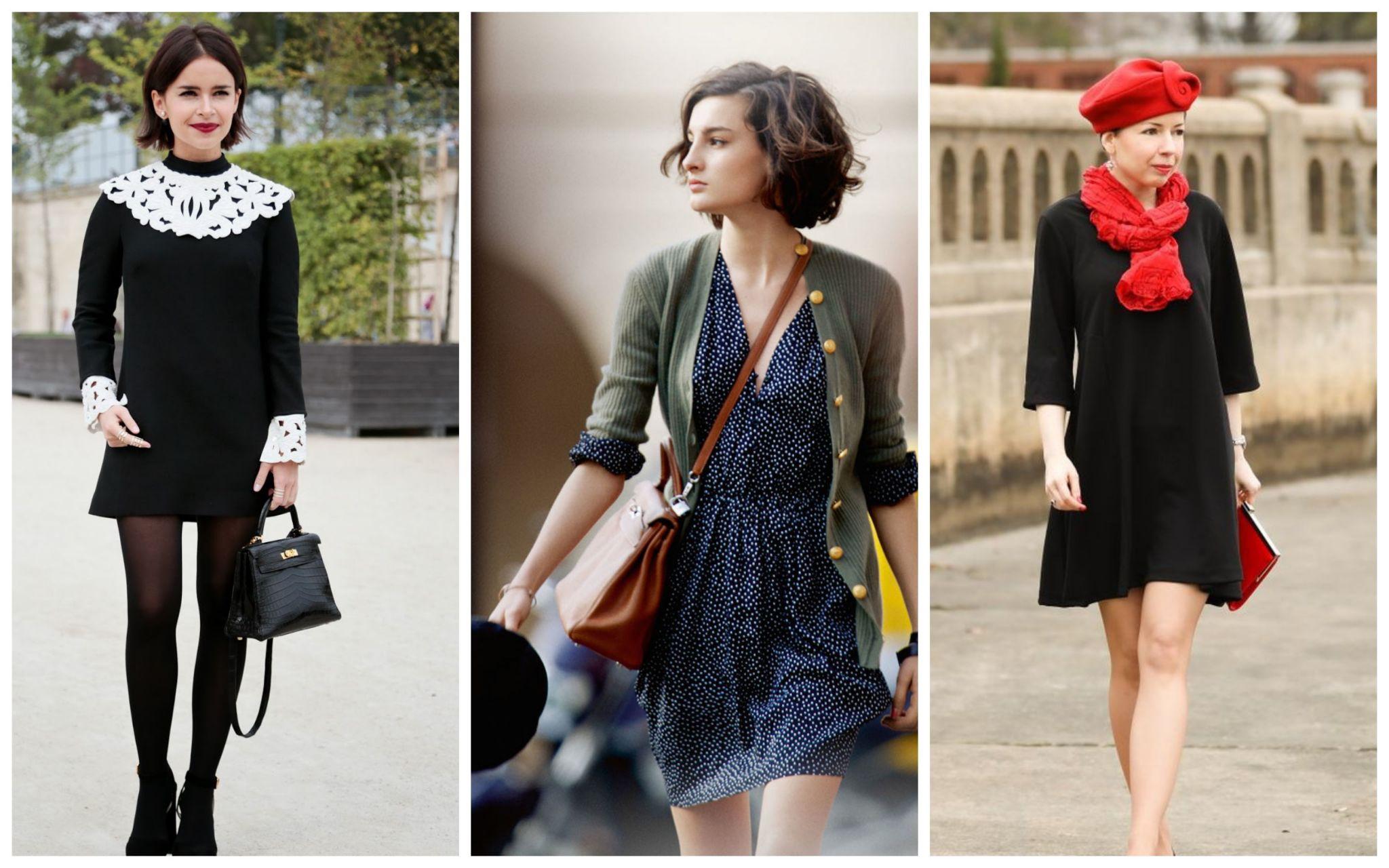 Легкие французские платья