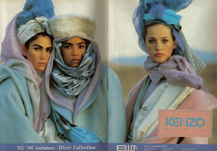 Коллекция одежды Kenzo