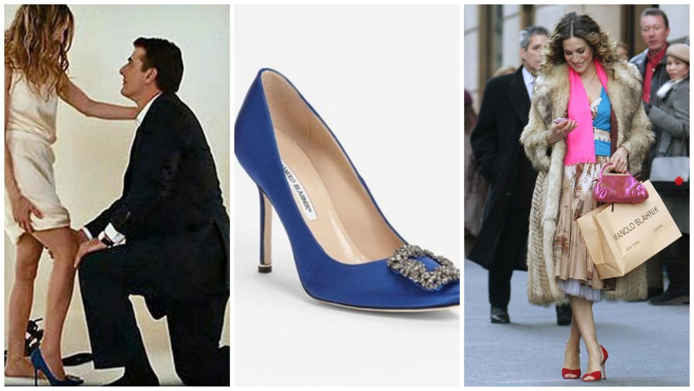Туфли Manolo Blahnik в сериале  «Секс в большом городе»