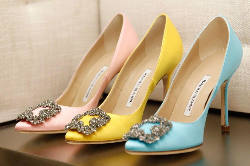 Утонченные туфли Manolo Blahnik