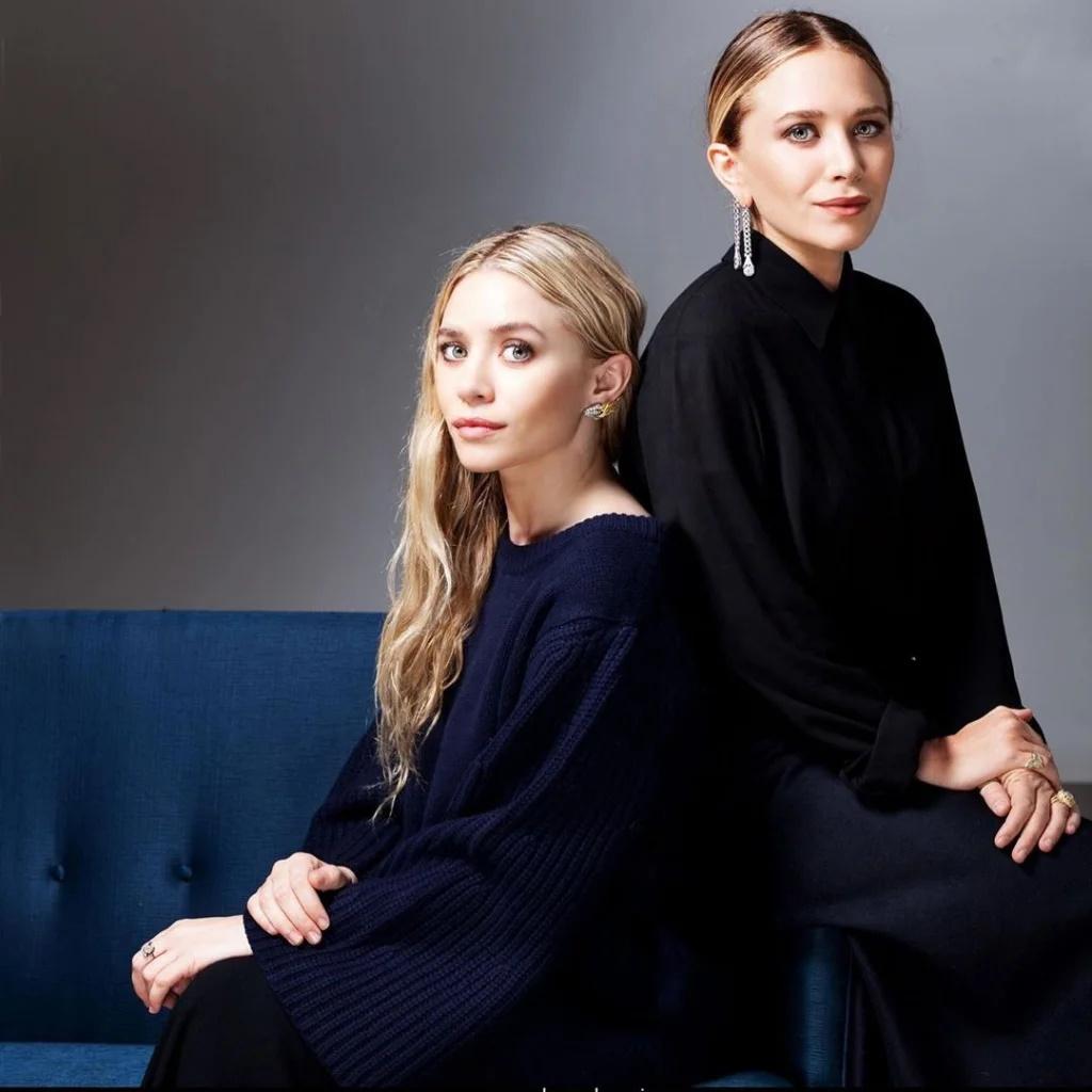 Сестры Мэри-Кейт и Эшли Олсен