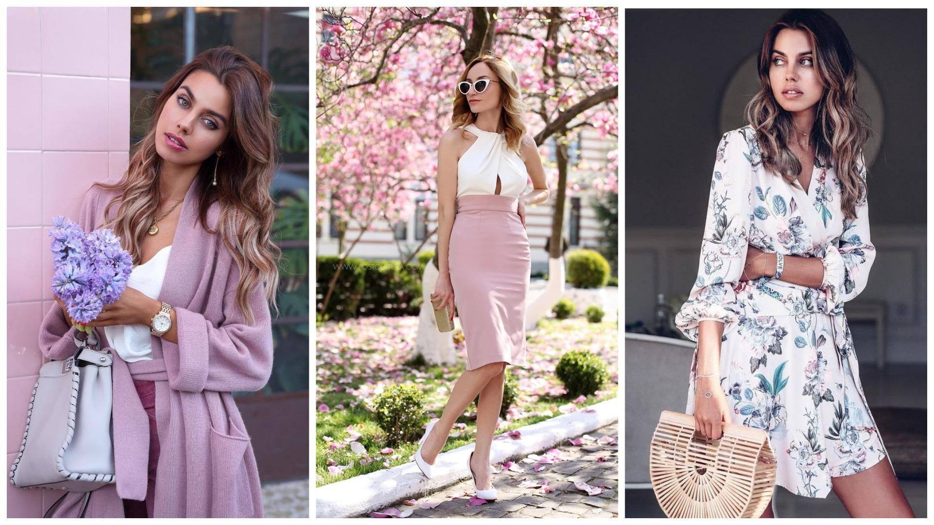 Спокойные расцветки женской одежды