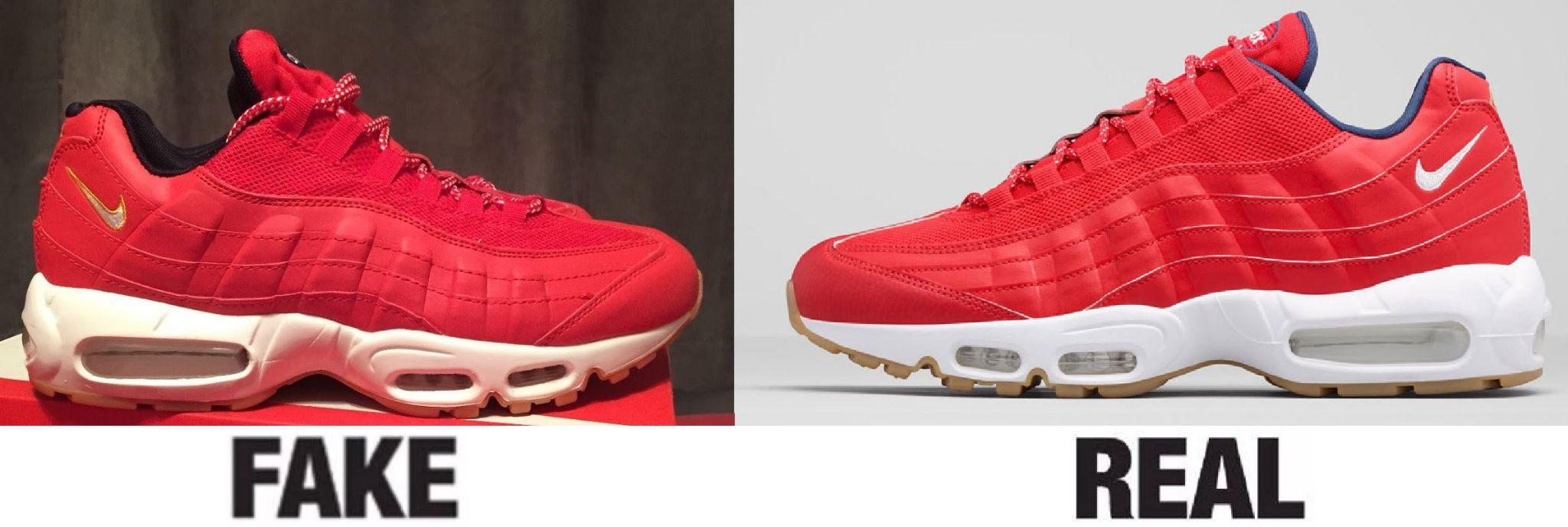 Отличия оригинальных кроссовок от подделок