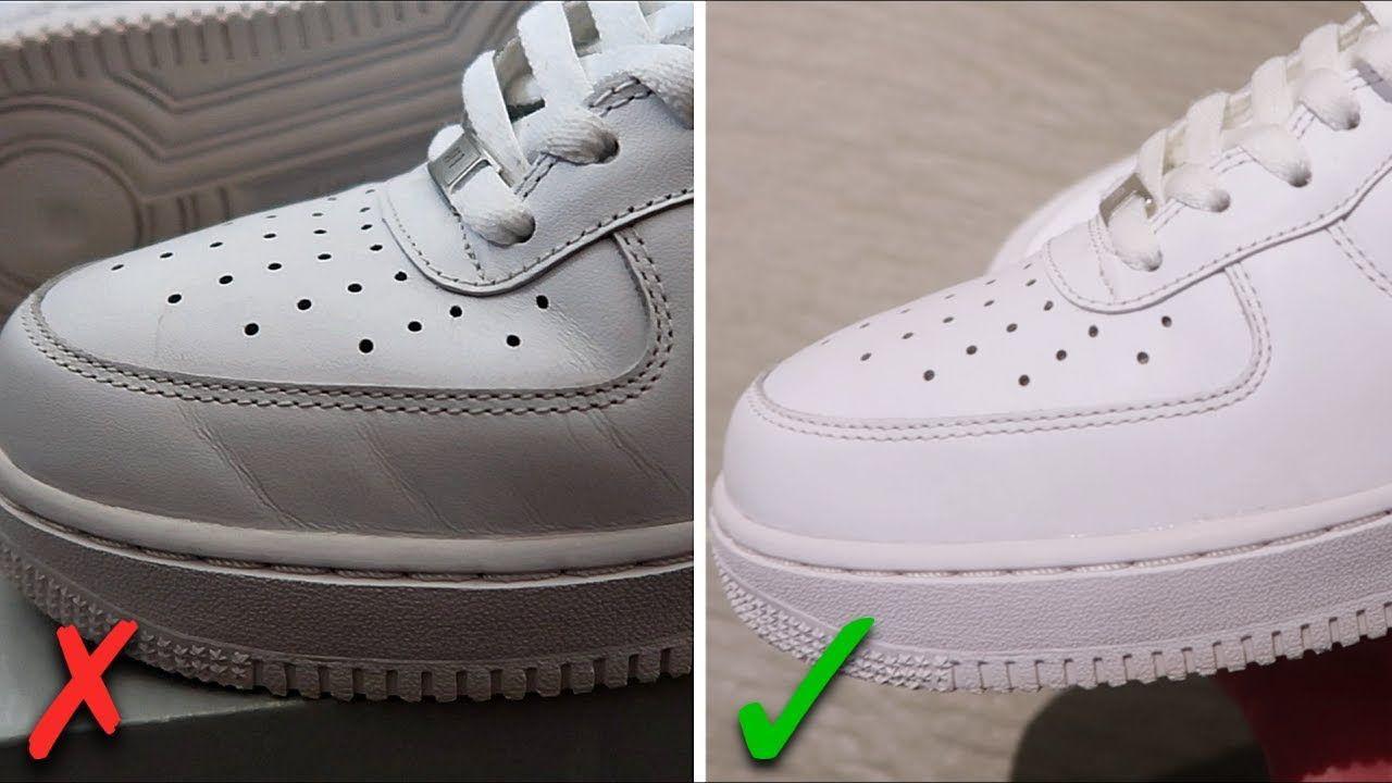 Отличие подошвы оригинальных кроссовок от фейка