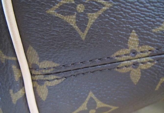 Симметричный рисунок на сумке