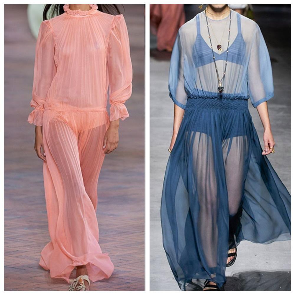 Платья-туники
