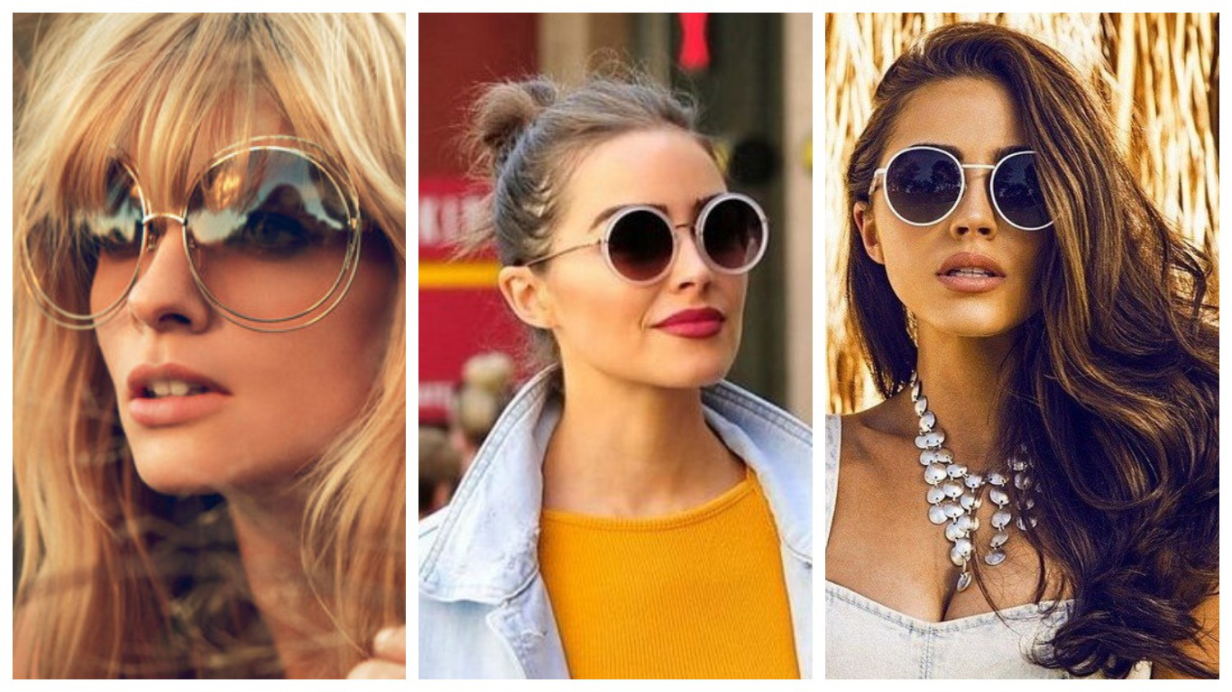 Круглые солцезащитные очки