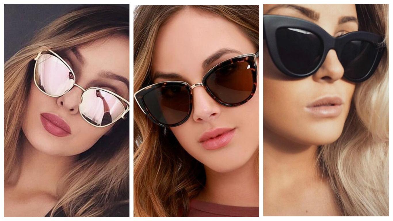 Cat eye очки от солнца