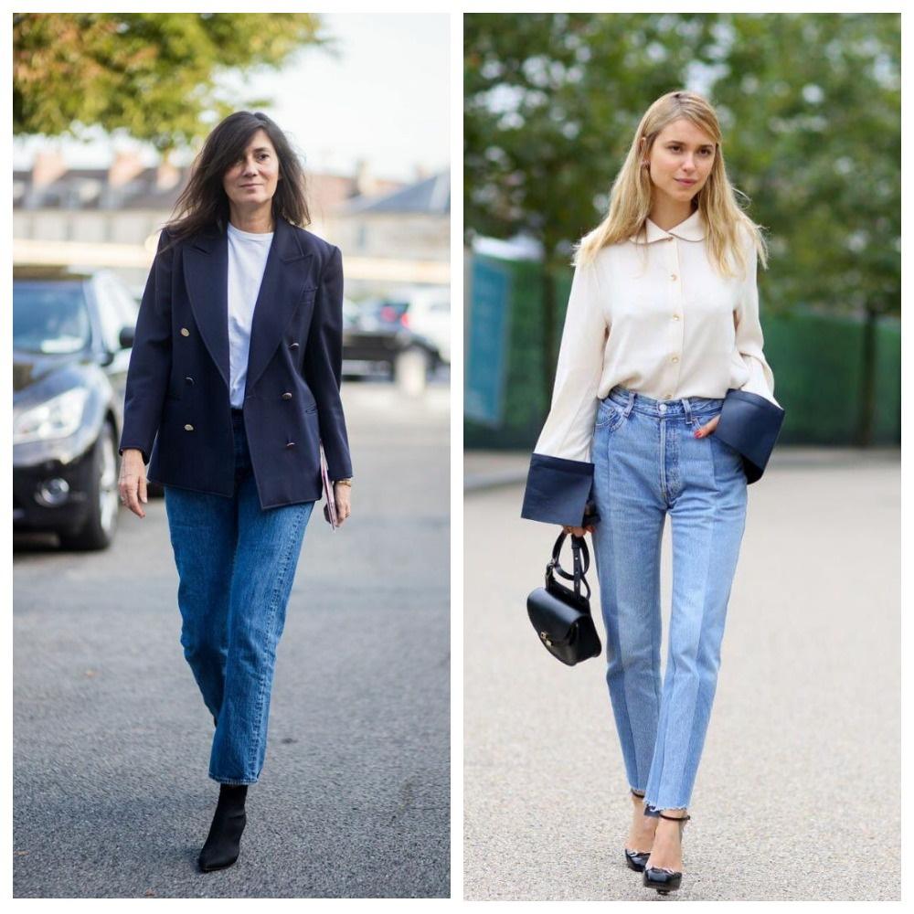 Базовый элемент гардероба - джинсы