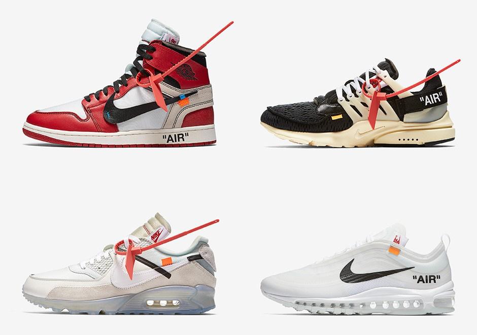 Кроссовки Off White Nike