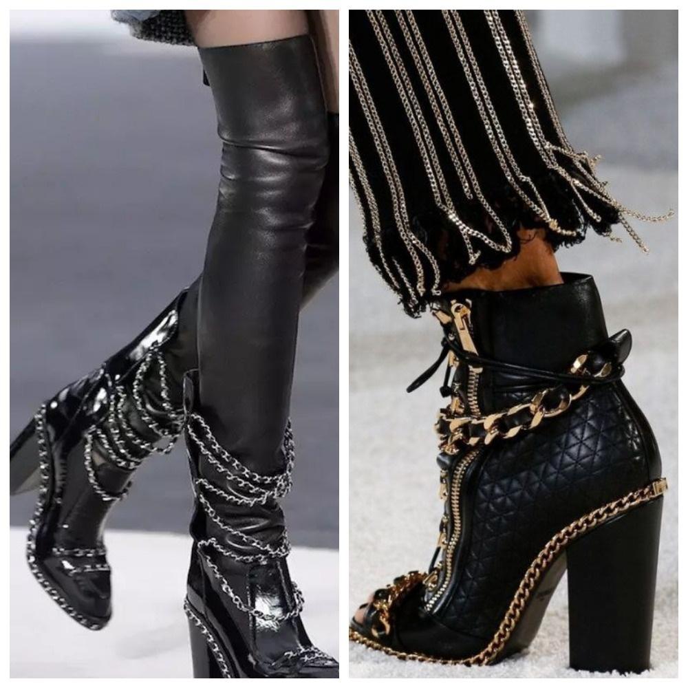 Цепи на обуви