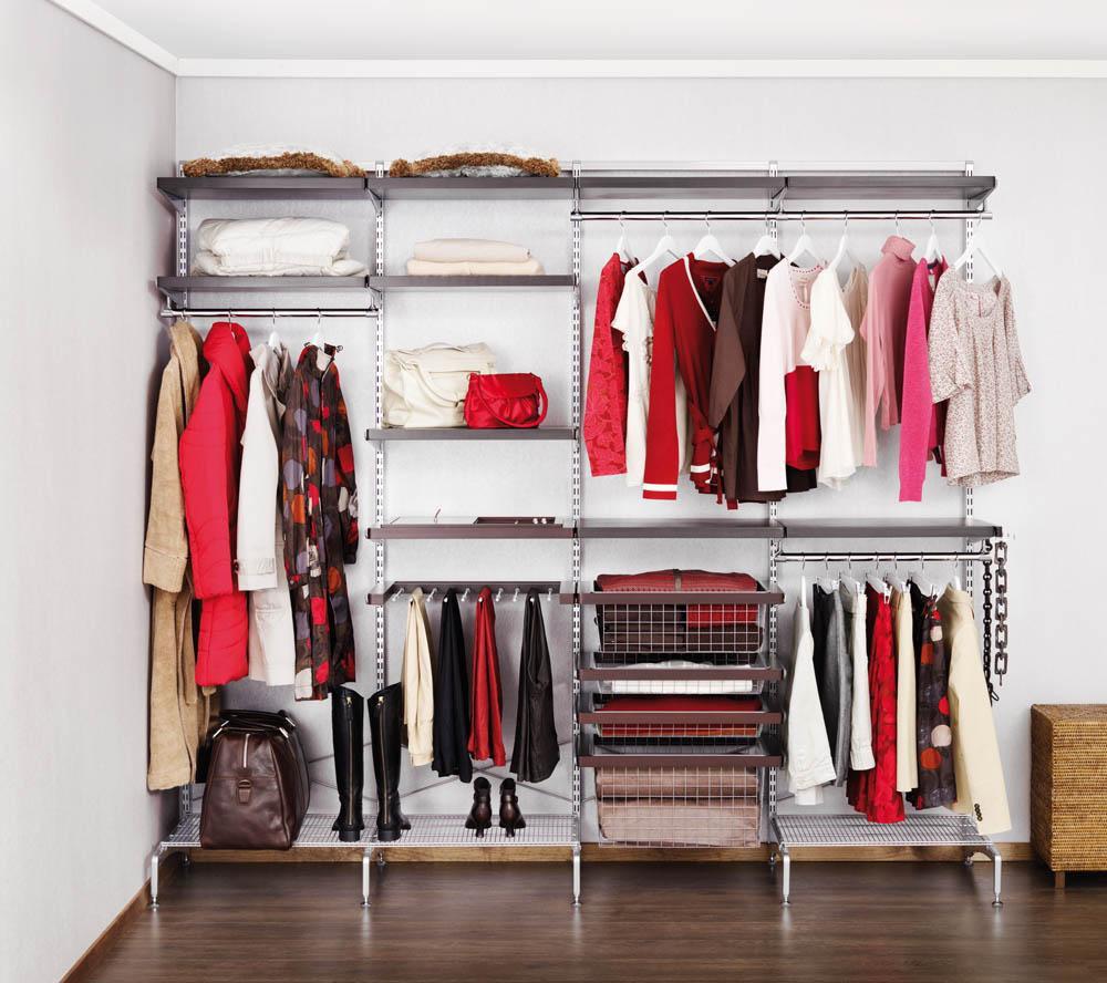 хранение одежды в гардеробе
