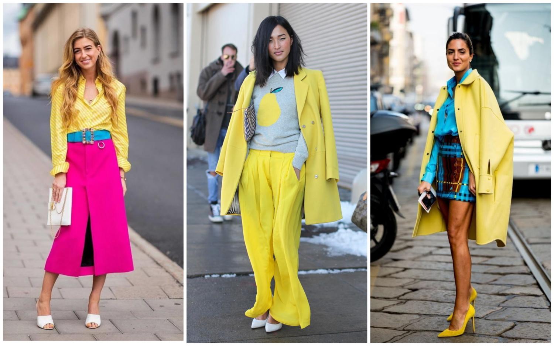 Микс цветов уличной моды