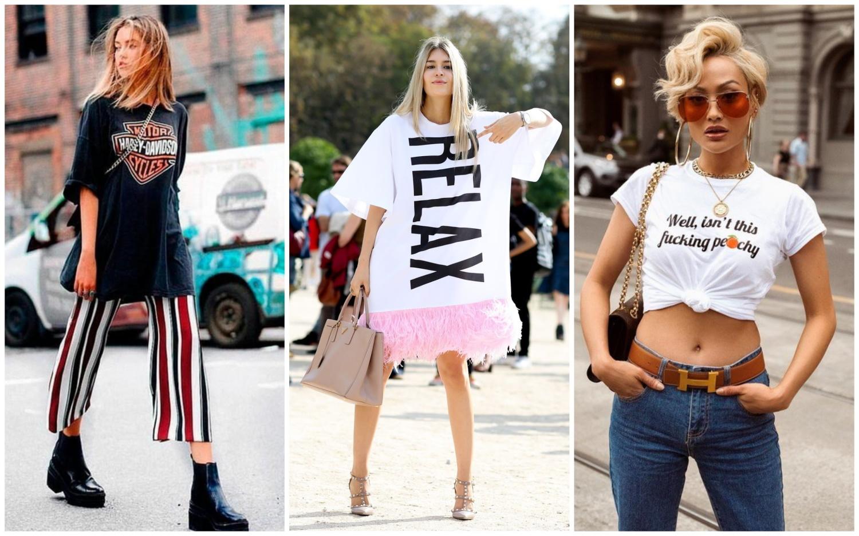 Уличная одежда с надписями